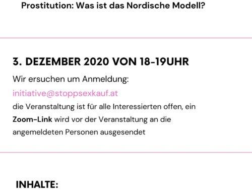Webinar zum Nordischen Modell